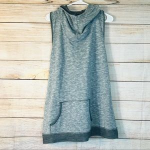 MAURICES gray cowl neck sweater top Sz 2